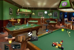 Billiard room - Hidden objects