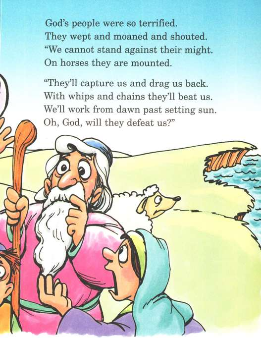 Arch Books Bible Stories: Moses' Dry Feet