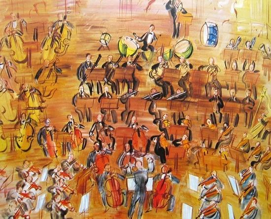 Raoul Dufy, Grand Orchestre