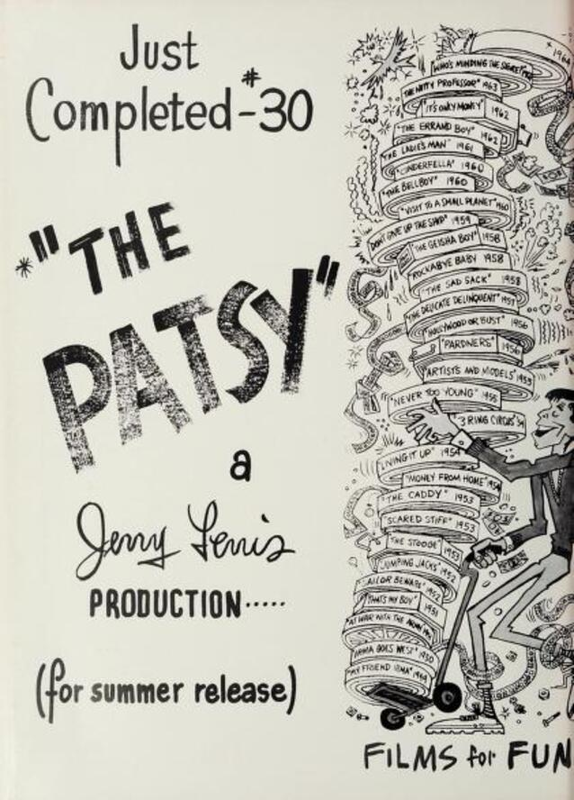 THE PATSY JERRY LEWIS BOX OFFICE USA 1964