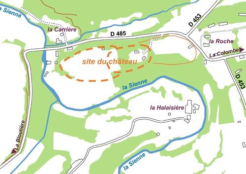 LES REMPARTS DE LA ROCHE-TESSON (Manche)