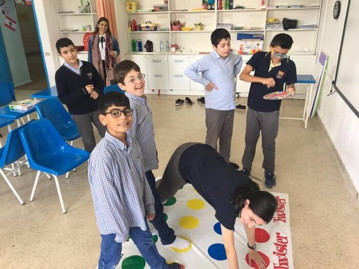 Rencontre avec les élèves du Collège des frères, Centre de vie Lasalle.