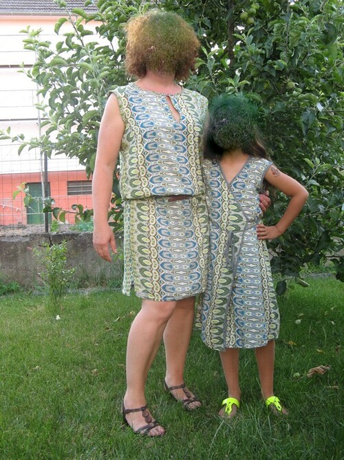 Robes provençales mère- fille