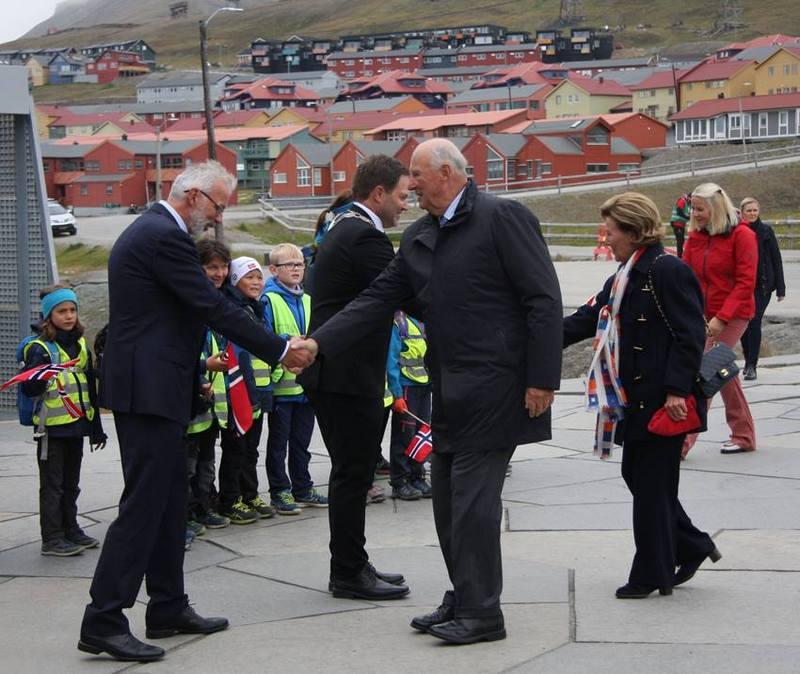 Kongefamilien på Svalbard