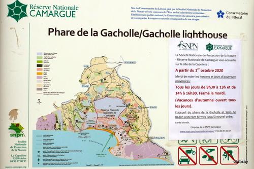 La Camargue: le phare de la Gacholle