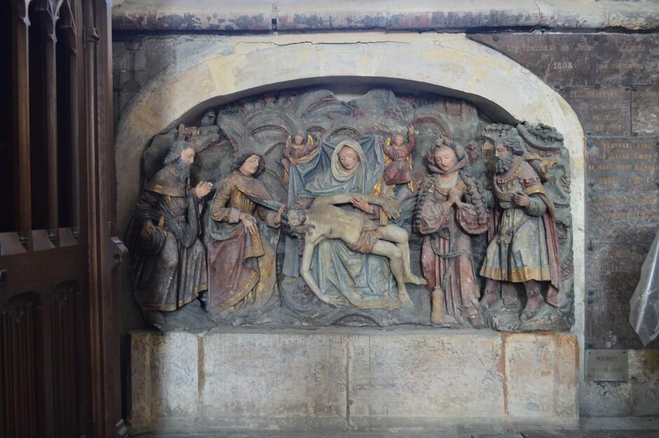 Mes vacances en Baie de Somme (13). Le Tréport, église Saint-Jacques
