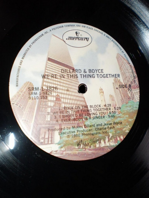 "1980 : Album "" We're In This Thing Together "" Mercury Records SRM-1-3826 [ US ]"