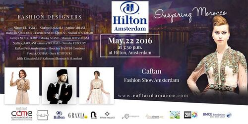 Caftan Fashion Show Amsterdam 2016: Leila Hadioui Top Model