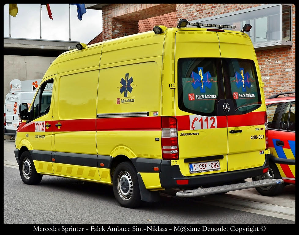falck ambuce sint niklaas belgian emergency service. Black Bedroom Furniture Sets. Home Design Ideas