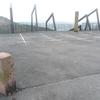 Borne frontière numéro 12 (350 m), en bordure du parking venta Peio à Ibardin