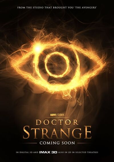 This is another poster for Dr Strange.