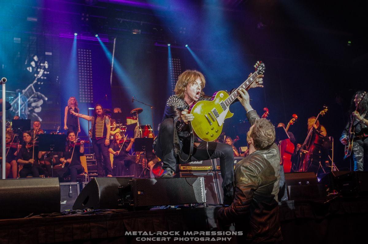 Joey Tempest : Photos de Passau le 1er avril 2016