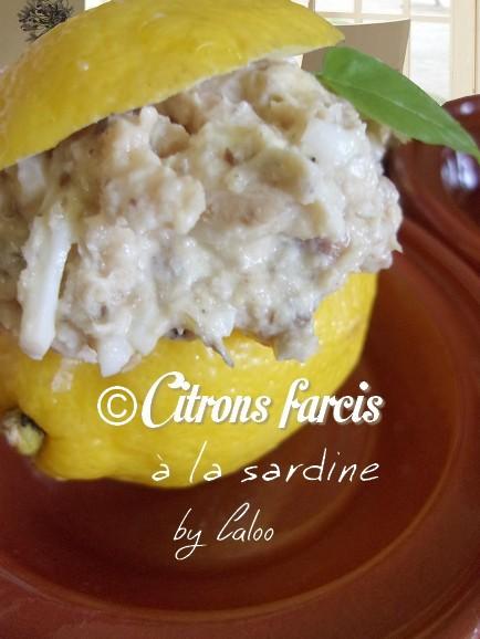 Citrons farcis [...]