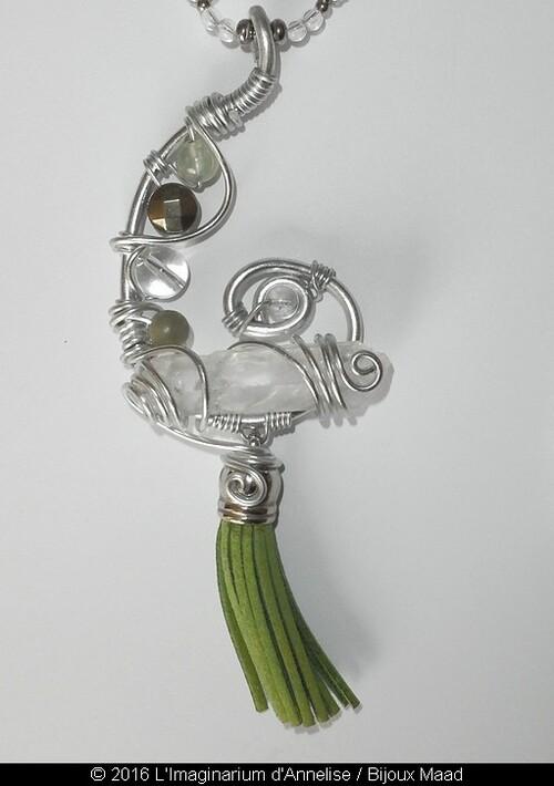 Nymphadora - pendentif de Bijoux Maad