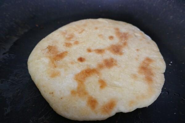 Du pain à la poêle