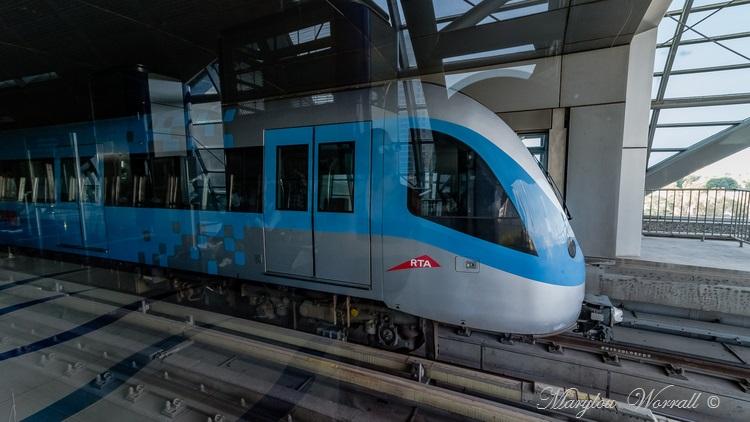 Dubaï : Le Métro