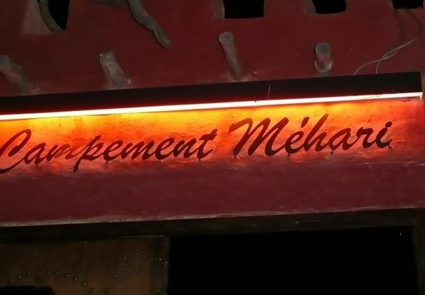 """Arrivée au """" Campement Méhari"""" Superbe accueil"""