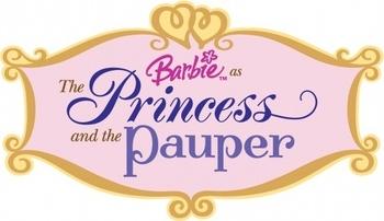 Logo Barbie Coeur de Princesse