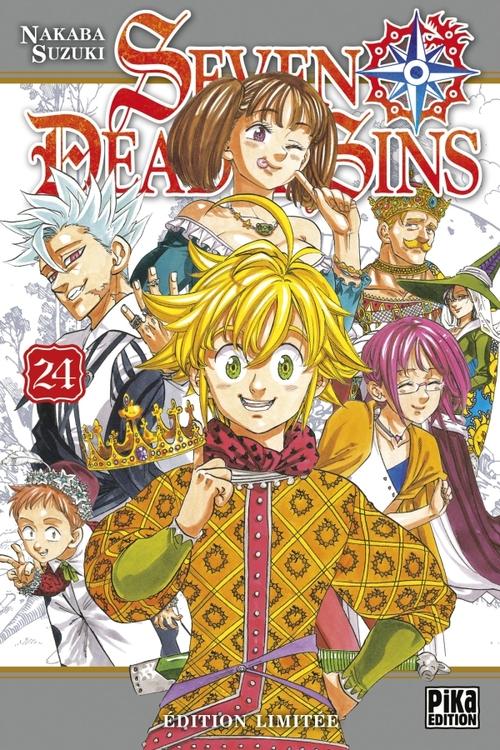 Seven deadly sins - Tome 24 - Nakaba Suzuki