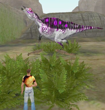 Dino Baby-sitter