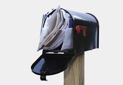 Faites vider votre boite aux lettres pendant vos vacances