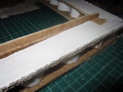 Séchoir à plantes - construction des cadres de l'ossature
