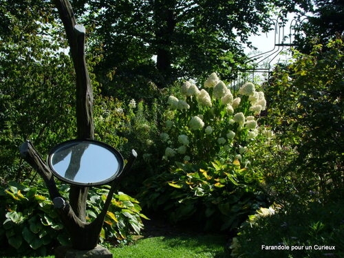 "Visite au jardin : l'atelier jardin ""à Cressia dans le Jura (39)"""