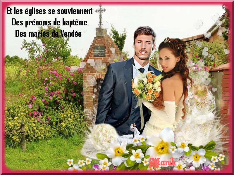 Les mariés de Vendée défi pour Marjolaine !
