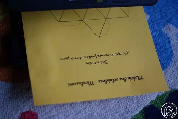 DIY Montessori - Le mobile des octaèdres
