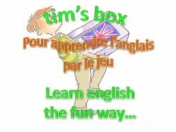 Tim's Box, Learn English the fun way...