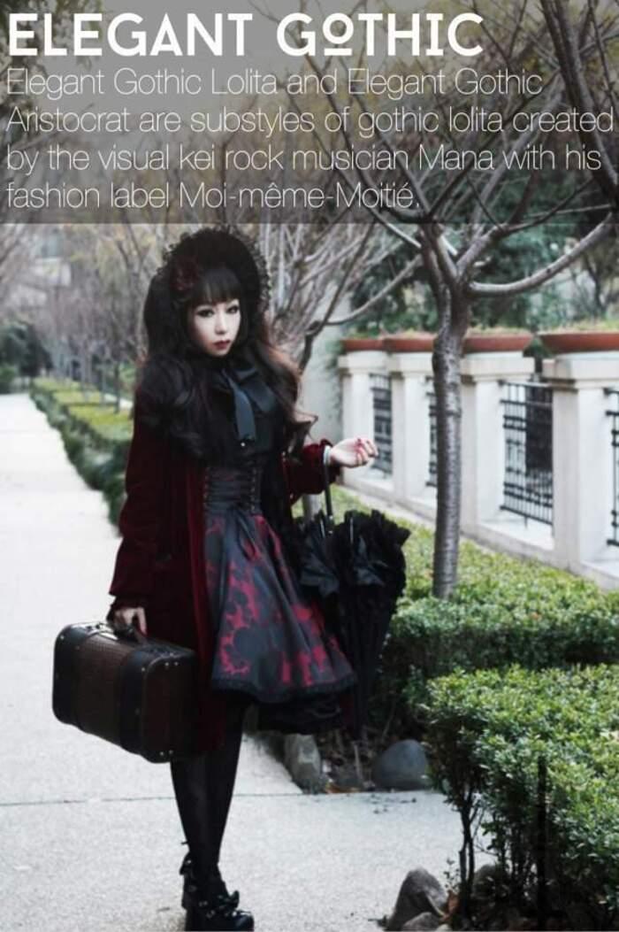 Look élégant gothic aristocrat