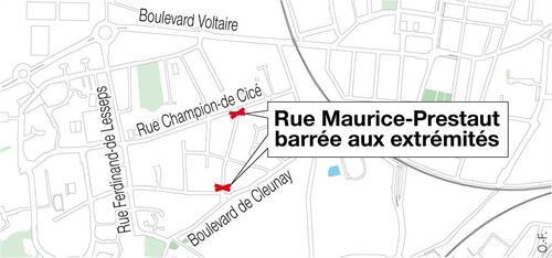 Rennes invente la rue en double sens interdi