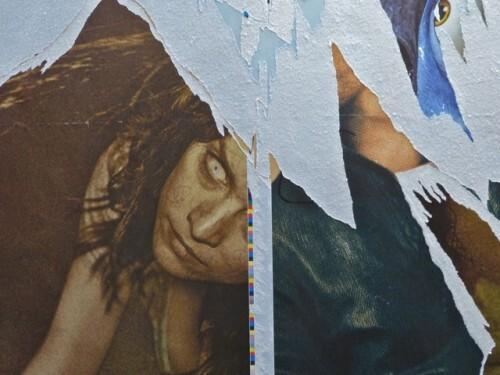 affiche palimpseste Baby diable 10246