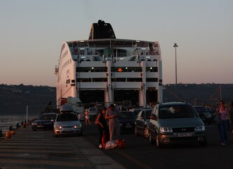 Au revoir La Crète bonjour le Continent