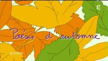 19 - Poésie d'automne