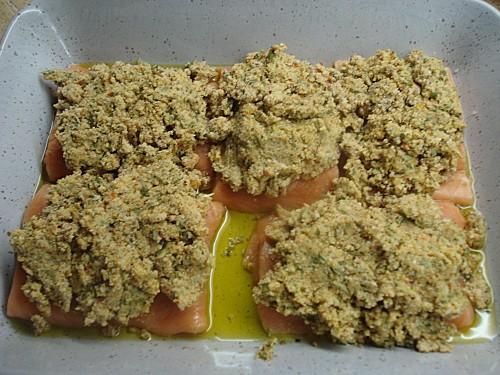 Pavés de Saumon en Croûte de Moutarde 5