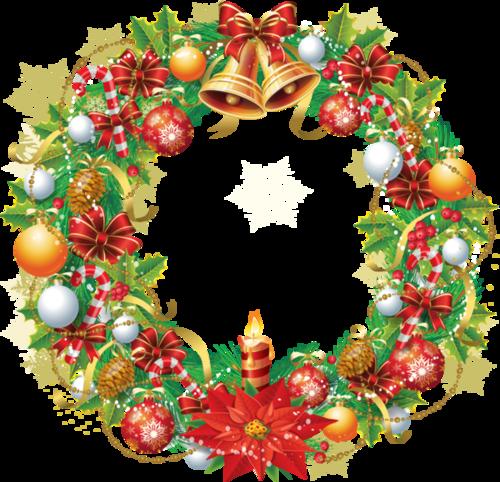 couronnes de Noel