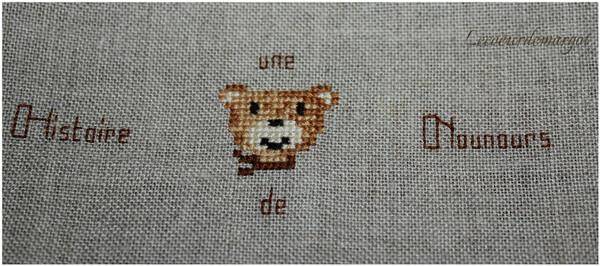 Un ours sur l'enveloppe