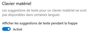Utiliser la prédiction de mots pour l'apprentissage des langues (saisie au clavier et clavier visuel)