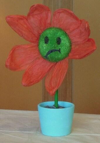 La petite fleur malade