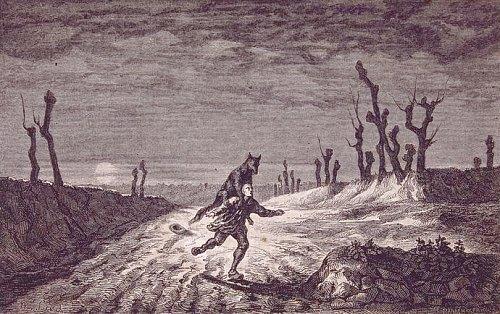 Le Loup-Garou, par Maurice Sand