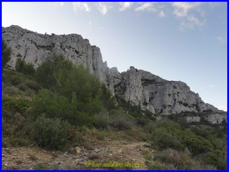 Calanques, cheminée de Guillermin, cirque de Mestralet