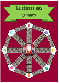 La chasse aux gemmes: jeu sur les tables de multiplication