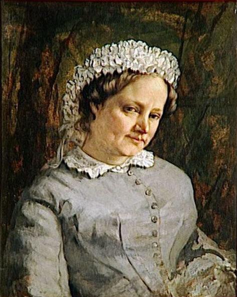 Madame Proudhon par Courbet