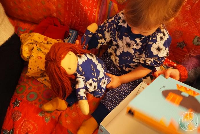 Une poupée Waldorf pour ses 2 ans