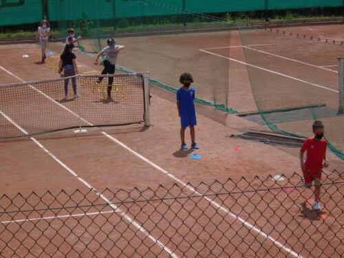 Comme à Roland Garros