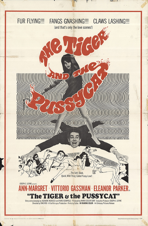 THE TIGER AND THE PUSSYCAT BOX OFFICE USA 1967
