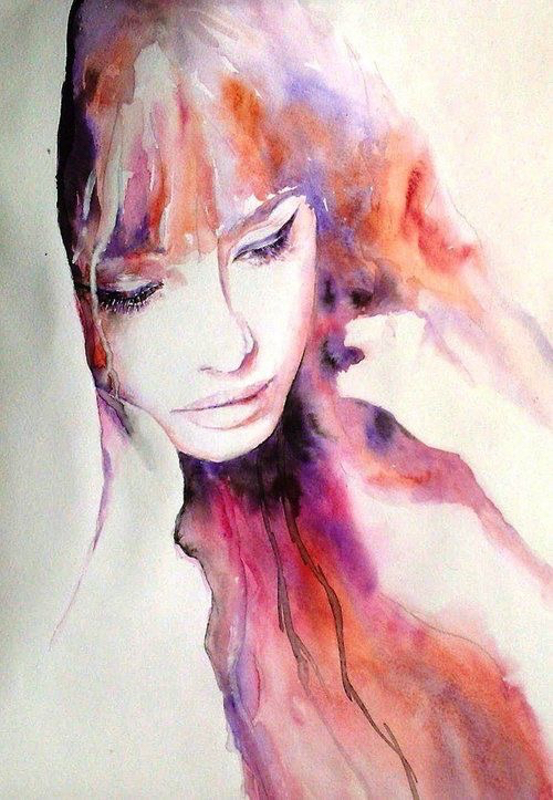 Femmes aquarelles