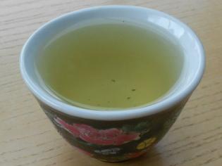 Thé vert au jasmin de chez Touch Organic