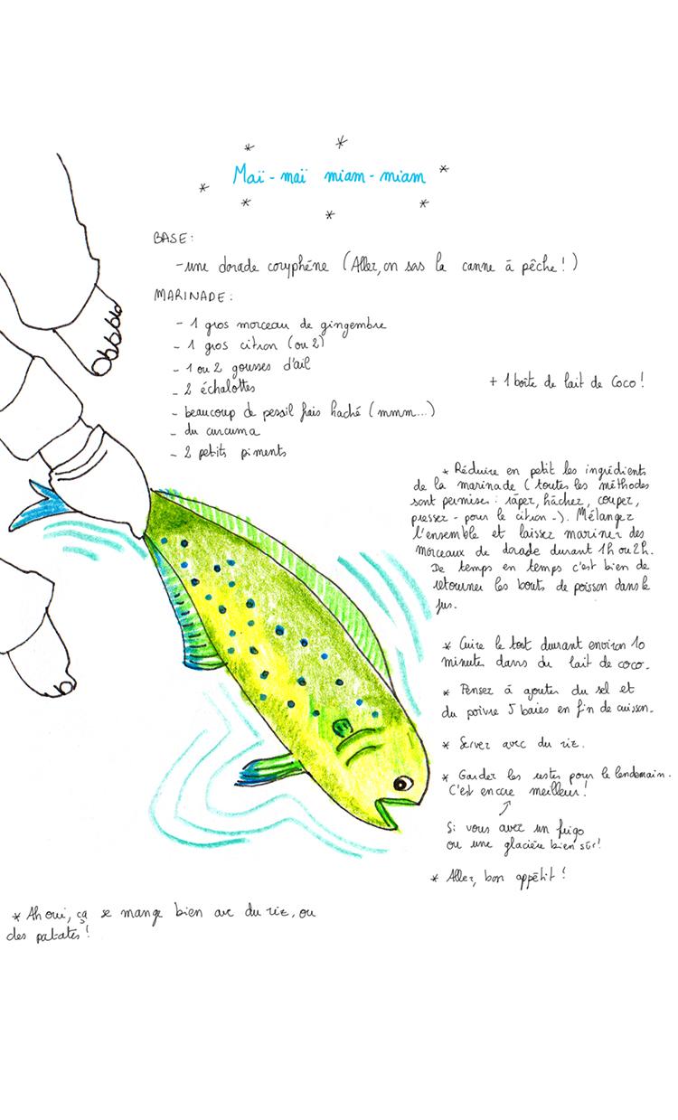Medium fish:
